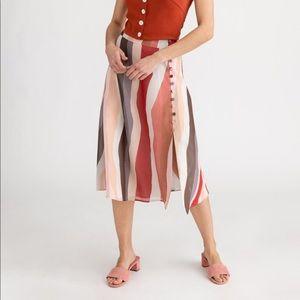 Macey Skirt in Rainbow